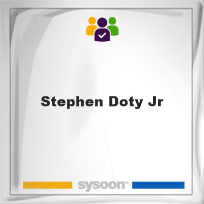 Stephen Doty Jr, Stephen Doty Jr, member