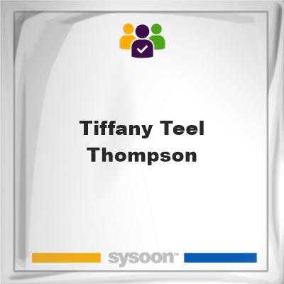 Tiffany Teel- Thompson , Tiffany Teel- Thompson , member