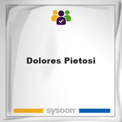 Dolores Pietosi, Dolores Pietosi, member