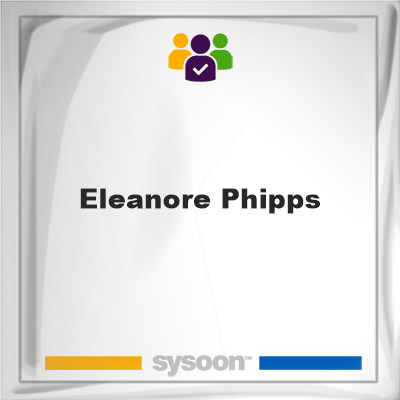 Eleanore Phipps, Eleanore Phipps, member