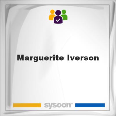 Marguerite Iverson, Marguerite Iverson, member