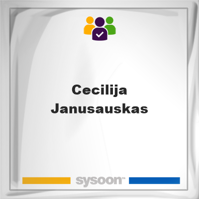 Cecilija Janusauskas, Cecilija Janusauskas, member