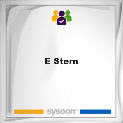 E Stern, E Stern, member