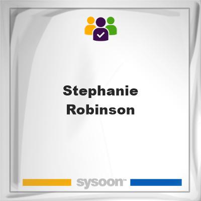 Stephanie Robinson, Stephanie Robinson, member