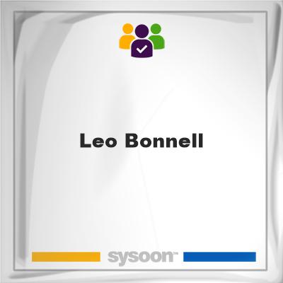 Leo Bonnell, Leo Bonnell, member