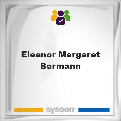 Eleanor Margaret Bormann, Eleanor Margaret Bormann, member