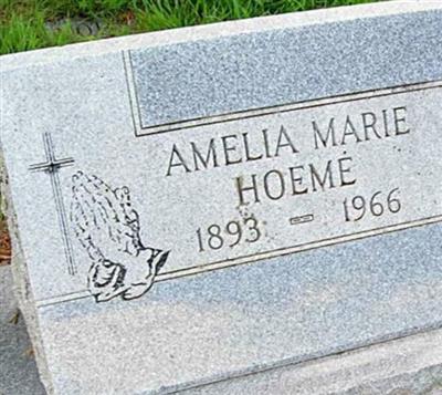 Amelia Marie Hoeme on Sysoon