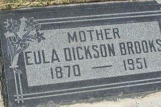 Eula Dickson Brooks on Sysoon