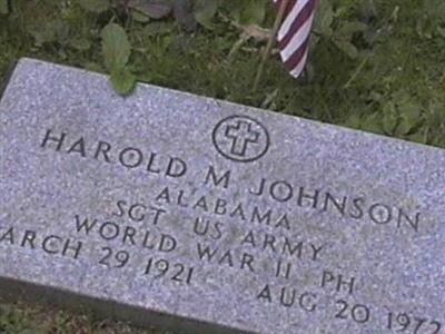 Harold M. Johnson on Sysoon