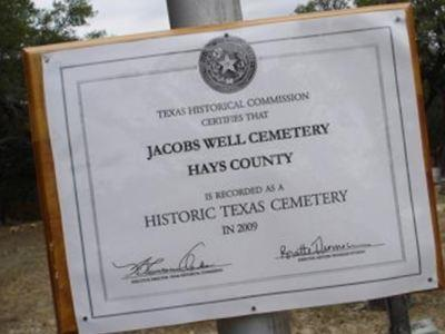 Jacobs Well Cemetery on Sysoon