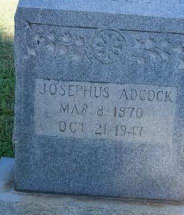 Josephus Adcock on Sysoon