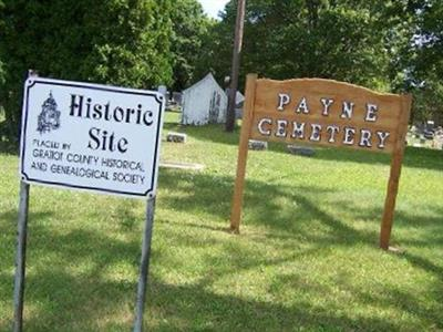 Payne Cemetery on Sysoon
