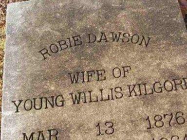 Robie Dawson Kilgore on Sysoon