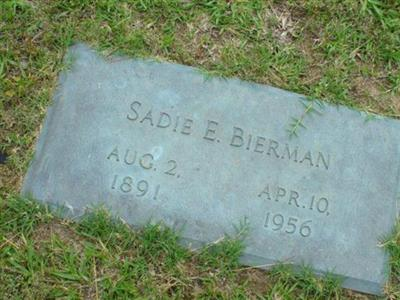 Sadie E. Bierman on Sysoon