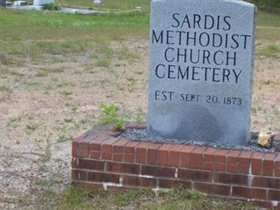 Sardis Methodist Cemetery on Sysoon