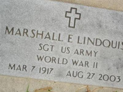 Sgt Marshall E. Lindquist on Sysoon