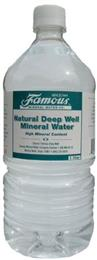 Famous Natural Deep Well Mineral Water