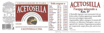 Acetosella Mineral Water