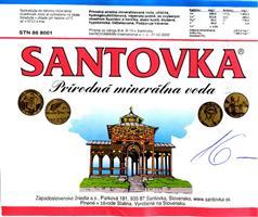 Santovka Etiketa