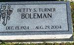 Betty S Boleman