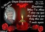 Cloye F Chamberlain
