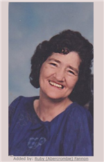 Eleanor Ruth Verzwyvelt Abercrombie