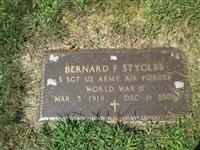 Bernard F Stygles