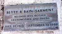 Betty R Sarment