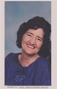 Eleanor Ruth Verzwyvelt Abercrombie on Sysoon