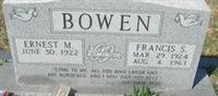 Ernest Melvin Bowen