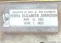 Fera Elizabeth Johnston on Sysoon