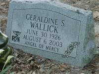 Geraldine S Wallick