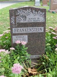 Hyman Frankenstein on Sysoon