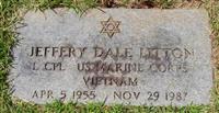 J D Litton gravestone