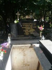 Ladislav Gábriš - hrob / grave