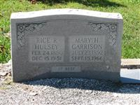Mary H Garrison