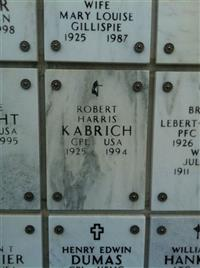 Robert H Kabrich