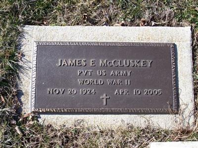 James Edward Mccluskey