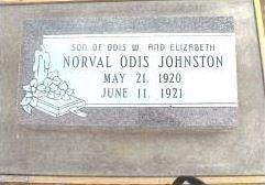 Norval Odis Johnston