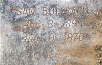 Sam Boleman